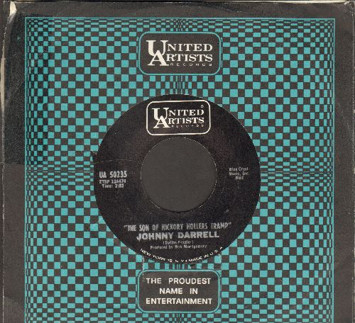 Darrell, Johnny - The Son Of Hickory Hollers Tramp/But That's Alright (with United Artists company sleeve) - EX8/ - 45 rpm Records