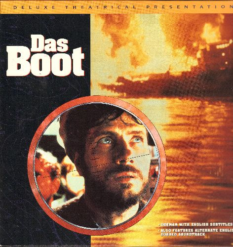 Das Boot - Das Boot - The Academy Award Winning German Epic WWII Drama on 2 LASERDISCS - NM9/NM9 - LaserDiscs