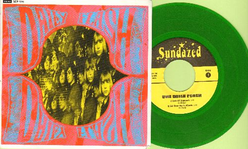 Daily Flash - Jack Of Diamonds/Girl From North Alberta/Grizzely Bear/When I Was A Cowboy (vinyl EP record, 1996 GREEN Vinyl Pressing with picture cover) - NM9/NM9 - 45 rpm Records