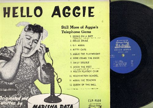 Data, Marisha - Hello Aggie - Aggie talks and talks and talk on the phone with various girl-friends, all in her thick-as-cheese first generation Immigrant accent. - EX8/EX8 - LP Records
