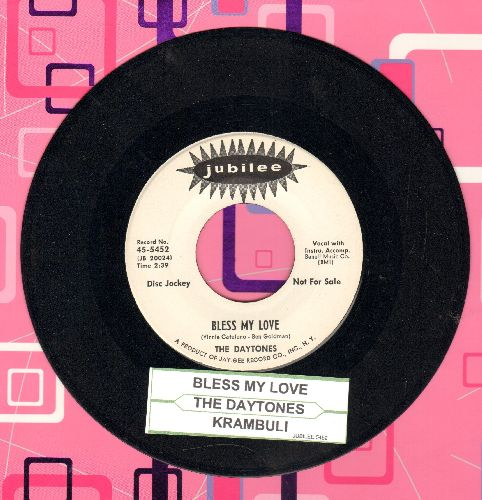 Daytones - Bless My Love/Krambuli (MINT condition DJ advance pressing with juke box label) - M10/ - 45 rpm Records