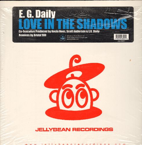 Daily, E. G. - Love In The Shadows - 12 inch vinyl Maxi Single featuring 4 Extended Dance Club Track, with picture cover (still in shrink wrap!) - NM9/NM9 - Maxi Singles