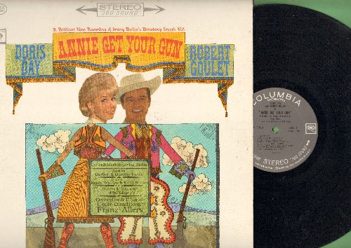Day, Doris, Robert Goulet - Annie Get Your Gun: Doin' What Comes Naturally, Anything You Can Do, I'm An Indian Too, You Can't Get A Man With A Gun, There's No Business Like Show Business (Vinyl STEREO LP record) - NM9/EX8 - LP Records