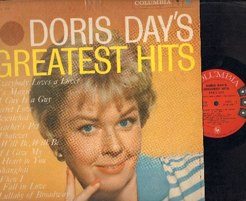 Day, Doris - Doris Day's Greatest Hits: Whatever Will Be Will Be, Secret Love, When I Fall In Love, Teacher's Pet, Love Me Or Leave Me (Vinyl MONO LP record, first pressing) - VG7/VG7 - LP Records