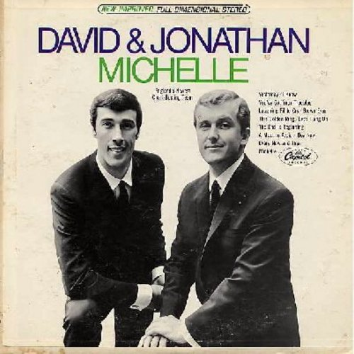 David & Jonathan - Michelle: Yesterday, Let's Hang On, A Must To Avoid, Every Now And Then (Vinyl STEREO LP record) - NM9/VG7 - LP Records