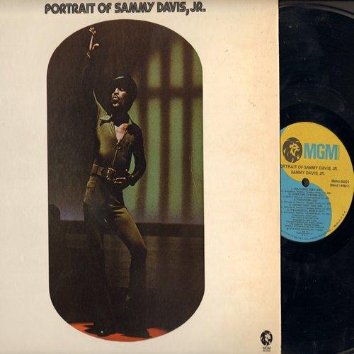 Davis, Sammy Jr. - Portrait Of Sammy Davis, Jr.: Mr. Bojangles, Love Is All Around, The People Tree, You Can Have Her (Vinyl STEREO LP record) - NM9/NM9 - LP Records