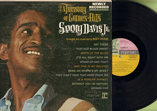 Davis, Sammy Jr. - A Treaury Of Golden Hits: Hey There, They Can't Take That Away From Me, That Old Black Magic (vinyl LP record) - EX8/VG7 - LP Records