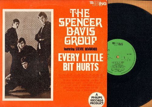 Davis, Spencer Group - Every Little Bit Hurts: My Babe, Sittin' And Thinkin', I Can't Stand It, It Hurts Me So, Jump Back (vinyl LP record, British Pressing) - EX8/EX8 - LP Records