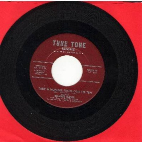 Davis, Bonnie - Take A Number From One To Ten/If You Only Knew - EX8/ - 45 rpm Records