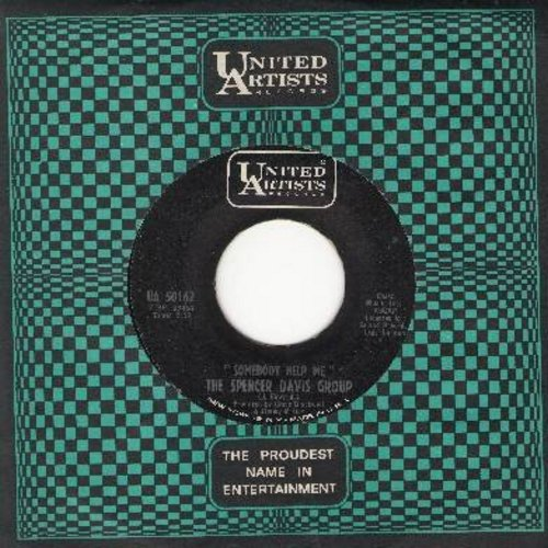 Davis, Spencer Group - Somebody Help Me/On The Green Light - VG7/ - 45 rpm Records