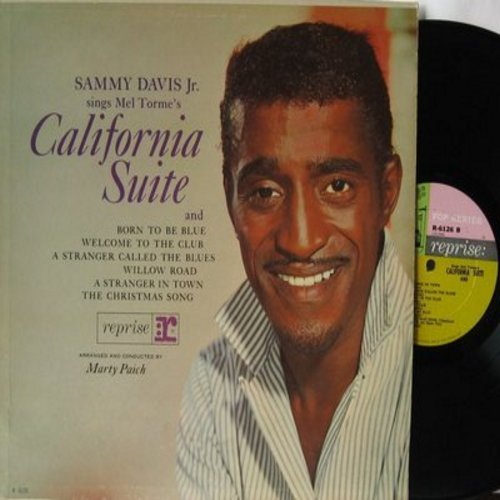 Davis, Sammy Jr. - California Suite: Born To Be Blue, Welcome To The Club, The Christmas Song,Willow Road (vinyl MONO LP record) - NM9/EX8 - LP Records