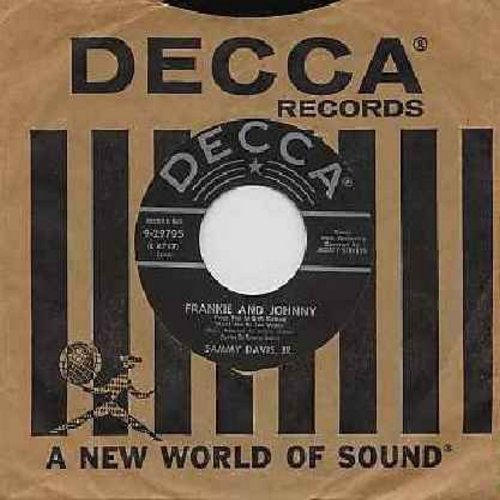 Davis, Sammy Jr. - Frankie And Johnny/Circus (with Decca company sleeve) - NM9/ - 45 rpm Records