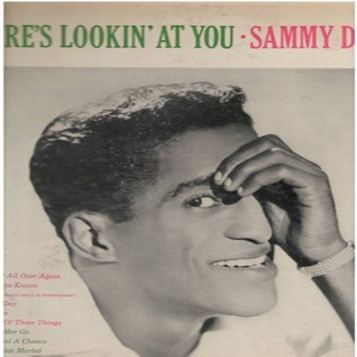 Davis, Sammy Jr. - Here's Lookin' At You: Just One Of Those Things, The Nearness Of You, The Clown, In A Persion Market (Vinyl MONO LP record, pink label DJ advance pressing) - EX8/VG7 - LP Records