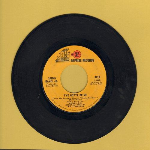Davis, Sammy Jr. - I've Gotta Be Me/Bein' Natural Bein' Me - VG6/ - 45 rpm Records
