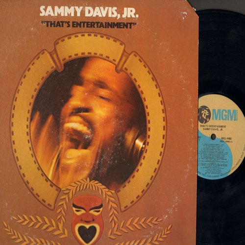 Davis, Sammy Jr. - That's Entertainment: Get Happy, Singin' In The Rain, Be My Love (Vinyl STEREO LP record) - NM9/VG7 - LP Records
