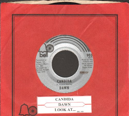 Dawn - Candida/Look At… (with Bell company sleeve and juke box label) - EX8/ - 45 rpm Records