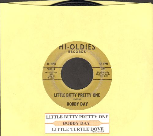 Day, Bobby - Little Bitty Pretty One/Little Turtle Dove (double-hit re-issue with juke box label) - EX8/ - 45 rpm Records