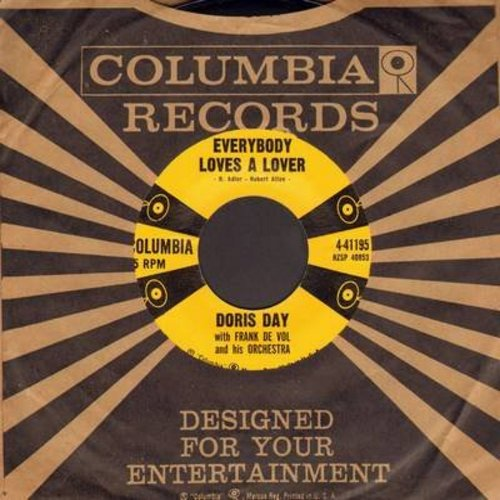 Day, Doris - Everybody Loves A Lover/Instant Love (with vintage Columbia company sleeve) - NM9/ - 45 rpm Records