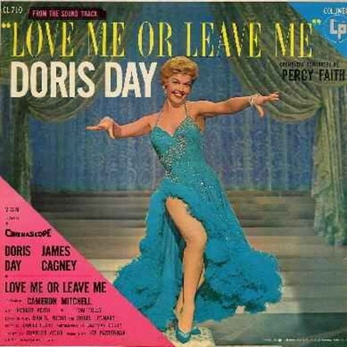 Day, Doris - Love Me Or Leave Me: You Made Me Love You, I'll Never Stop Loving You, Ten Cents A Dance, Sam The Old Accordion Man, Everybody Loves My Baby (Vinyl LP record) - VG7/VG7 - LP Records