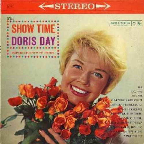 Day, Doris - Show Time: I Love Paris, People Will Say We're In Love, The Sound Of Music, I've Grown Accustomed To His Face (Vinyl MONO LP record) - EX8/VG7 - LP Records