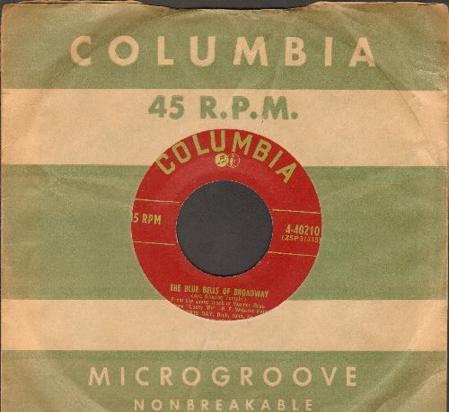Day, Doris - The Blue Bells Of Broadway/I Speak To The Stars (with Columbia company sleeve) - EX8/ - 45 rpm Records