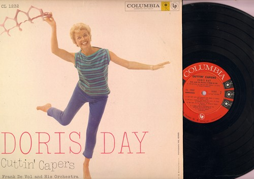 Day, Doris - Cuttin' Capers: Makin' Whoopee, I'm Sitting On Top Of The World (Vinyl MONO LP record) - EX8/VG7 - LP Records