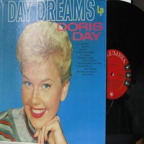 Day, Doris - Day Dreams: Bewitched, You Go To My Head, Darn That Dream, You're My Thrill (Vinyl MONO LP record) - VG7/G5 - LP Records