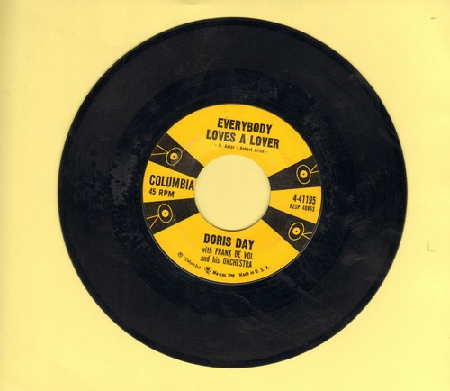 Day, Doris - Everybody Loves A Lover/Instant Love  - EX8/ - 45 rpm Records