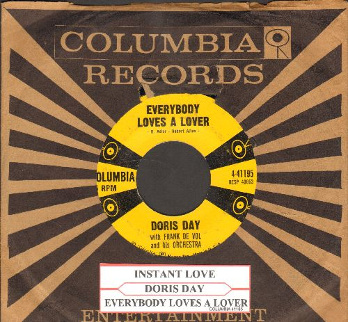 Day, Doris - Everybody Loves A Lover/Instant Love (with Columbia company sleeve and juke box label) - EX8/ - 45 rpm Records