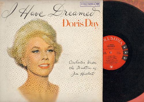 Day, Doris - I Have Dreamed: All I Do Is Dream Of You, I'll Buy That Dream, Someday I'll Find You (Vinyl MONO LP record, red/black label, 6 eyes) - VG7/VG7 - LP Records