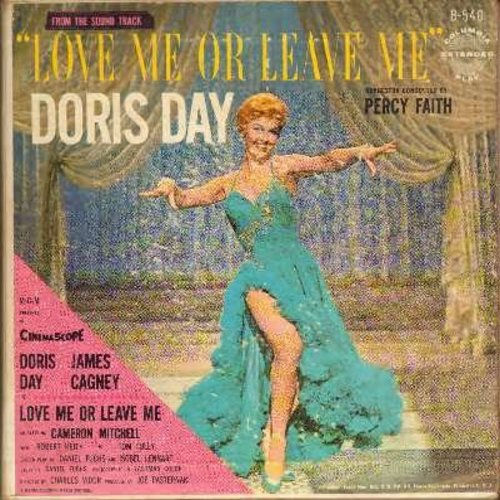 Day, Doris - Love Me Or Leave Me: You Made Me Love You, I'll Never Stop Loving You, Ten Cents A Dance, Sam The Old Accordion Man, Everybody Loves My Baby (vinyl MONO LP record) - NM9/VG7 - LP Records