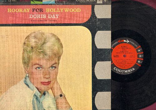Day, Doris - Hooray For Hollywood - Vol. 2: You'll Never Know, Pennies From Heaven, Let's Face The Music And Dance (Vinyl STEREO LP record) - EX8/VG6 - LP Records