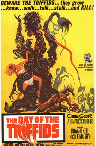 The Day Of The Triffids - The Day Of The Triffids - Classic Movie Poster. 12 X 16 inch full-color reproduction on heavy card board, suitable for framing!  - M10/ - Poster
