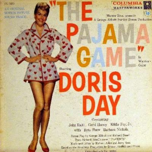 Day, Doris - Pajama Game, The: Original Motion Picture Sound Track - VG7/G5 - LP Records
