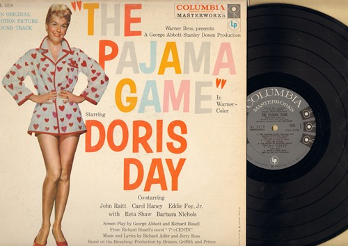 Day, Doris - Pajama Game, The: Original Motion Picture Sound Track (Vinyl MONO LP record, NICE condition!) - NM9/VG7 - LP Records