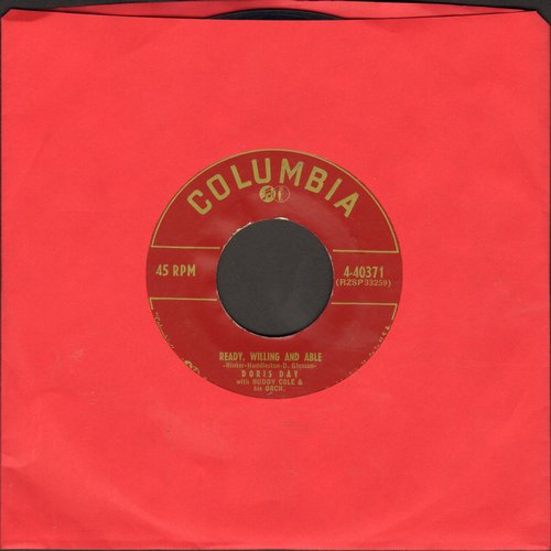 Day, Doris - Ready, Willing And Able/Hold Me In Your Arms  - VG7/ - 45 rpm Records