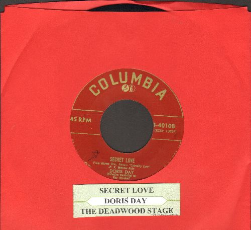 Day, Doris - Secret Love/The Deadwood Stage (with juke box label) - NM9/ - 45 rpm Records