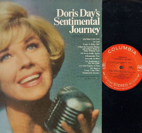 Day, Doris - Sentimental Journey: At Last, The More I See You, It's Been A Long Long Time, I Remember You (Vinyl STEREO LP record) - NM9/EX8 - LP Records