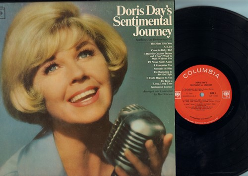 Day, Doris - Doris Day's Sentimental Journey: The More I See You, At Last, I Remember You, It's Been A Long Long Time (Vinyl MONO LP record) - NM9/NM9 - LP Records