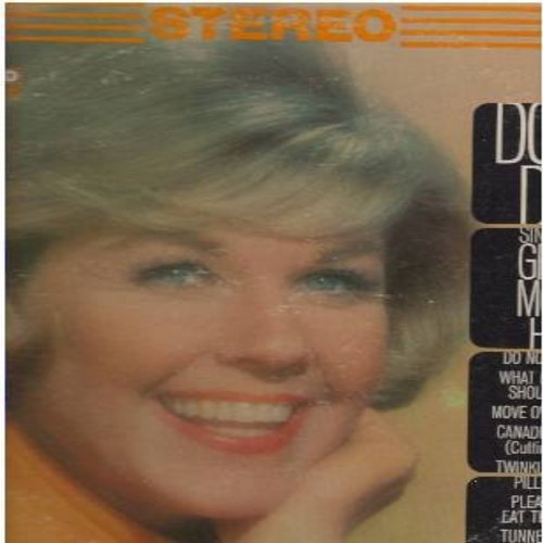 Day, Doris - Doris Day Sings Her Great Movie Hits: Pillow Talk, Julie, Please Don't Eat The Daisies, Move Over Darling, Do Not Disturb (Vinyl STEREO LP record, early re-issue) - EX8/VG7 - LP Records