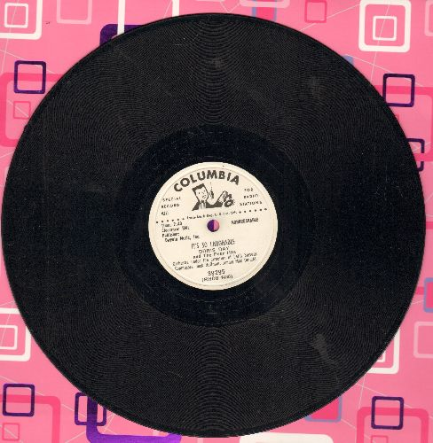 Day, Doris - It's So Laughable/Very Good Advice (10 inch 78 rpm record, DJ advance pressing) - EX8/ - 78 rpm