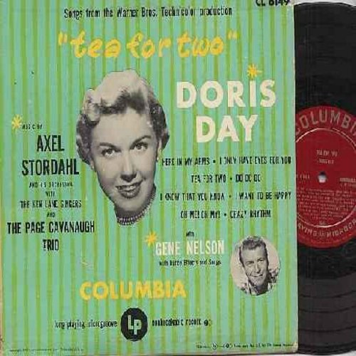Day, Doris - Tea For Two: I Only Have Eyes For You, Crazy Rhythm, I Know That You Know, I Want To Be Happy (vinyl 10 inch MONO LP record, RARE first issue) - EX8/VG7 - LP Records