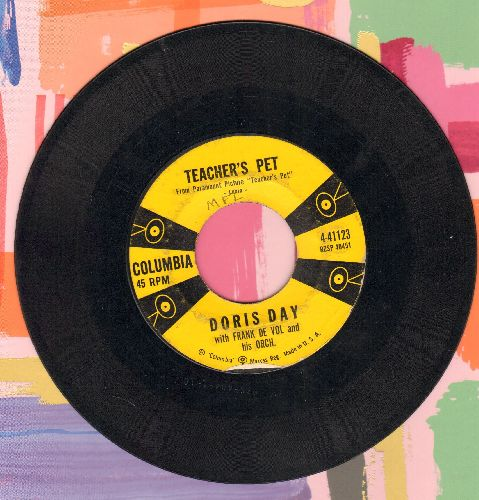 Day, Doris - Teacher's Pet/A Very Precious Love - VG7/ - 45 rpm Records