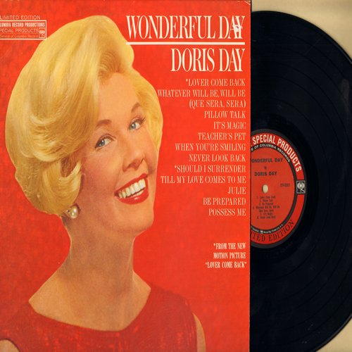 Day, Doris - Wonderful Day: Pillow Talk, Teacher's Pet, It's Magic, Possess Me, Julie, Lover Come Back  (Vinyl LP record) (Special Edition with eyes) - VG7/G5 - LP Records