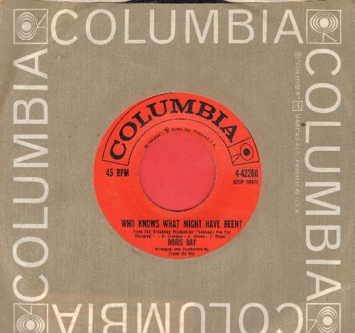 Day, Doris - Who Knows What Might Have Been/Should I Surrender (with Columbia company sleeve) - EX8/ - 45 rpm Records