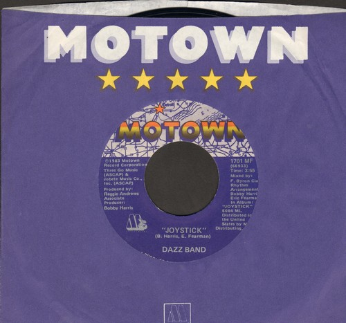 Dazz Band - Joy Stick/Don't Get Caught In The Middle (with Motown company sleeve) - EX8/ - 45 rpm Records
