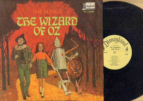 Disney - The Songs from The Wizard Of Oz - Plus Songs about the Scarecrow and the Cowardly Lion (vinyl MONO LP record) - NM9/EX8 - LP Records