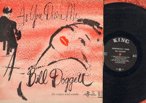 Doggett, Bill - As You Desire Me: I Hadn't Anyone Tll You, As Time Goes By, A Cottage For Sale, Dream, Fools Rush In (vinyl MONO LP record) - VG7/VG7 - LP Records