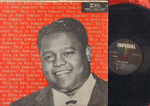 Domino, Fats - Rock And Rollin': My Blue Heaven, I'm In Love Again, When My Dreamboat Comes Home, Are You Going My Way, Fat's Frenzy 9vinyl MONO LP record, maroon label first pressing) - VG7/VG7 - LP Records