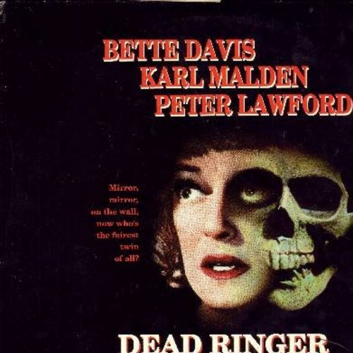 Dead Ringer - Dead Ringer - The Classic 1963 Thriller starring Bette Davis - THIS IS A LASER DISC, NOT ANY OTHER KIND OF MEDIA! - NM9/EX8 - Laser Discs